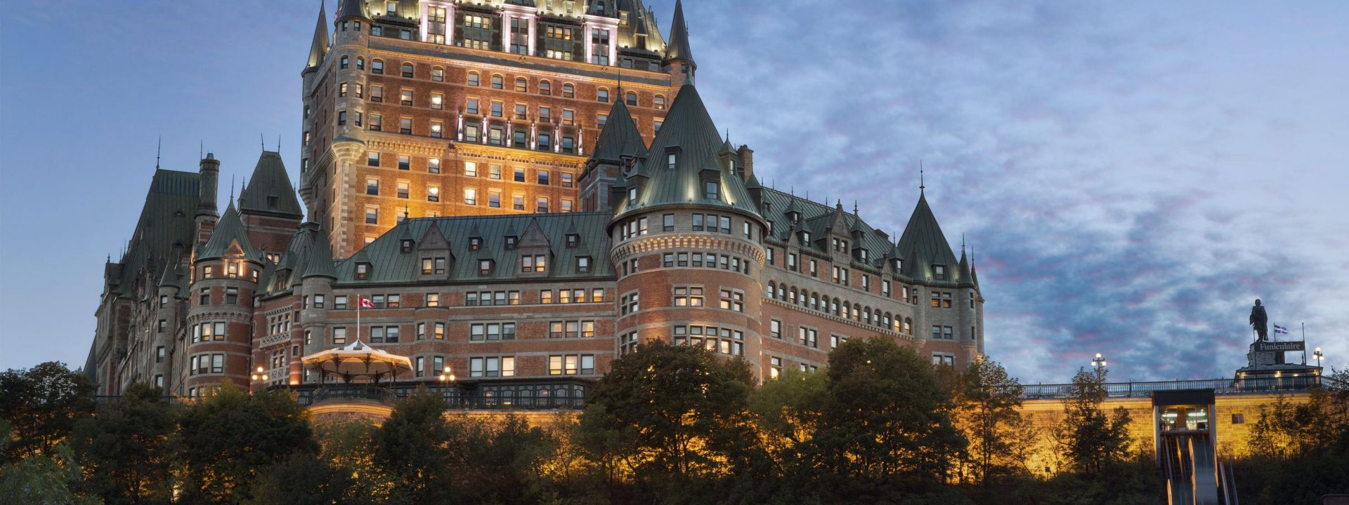 Quebec City's Fairmont Le Chateau Frontenac is aging gracefully at 125 years