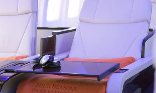 Four Seasons Hotels and Resorts takes flight with its very own private jet