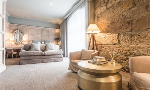 The Scotsman Hotel is a jewel just off the Royal Mile in Edinburgh