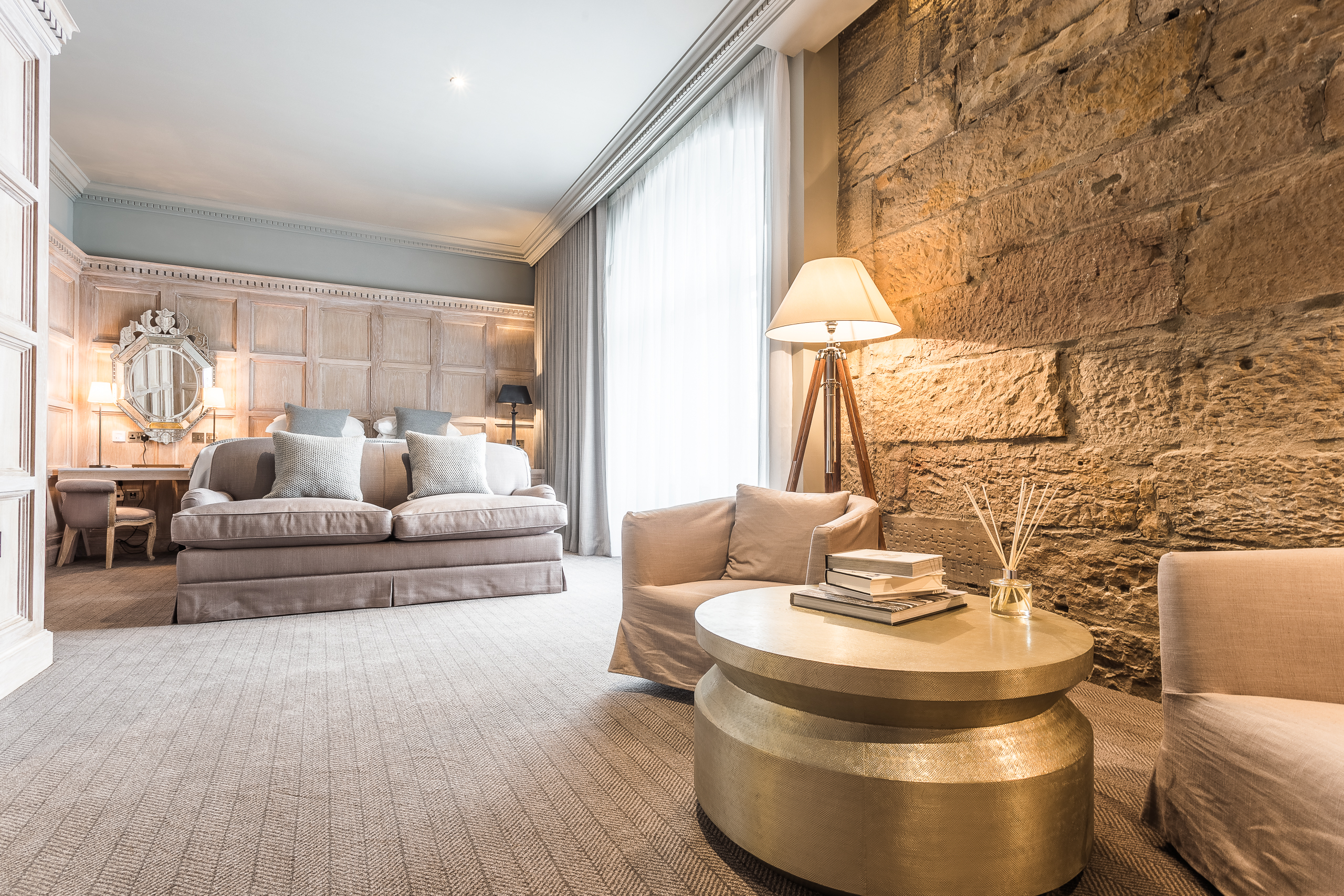 The Scotsman Hotel is a jewel just off the Royal Mile in