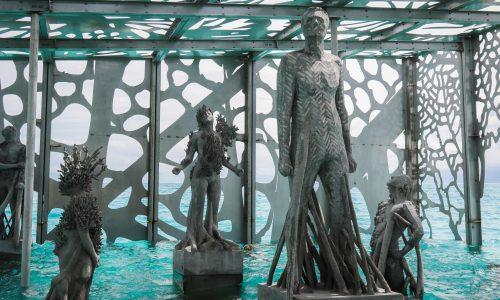 Fairmont Maldives opens otherworldly underwater art installation