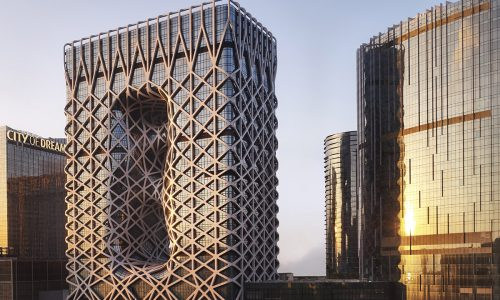 One of starchitect Zaha Hahid's final projects is now open—the Morpheus Macau hotel