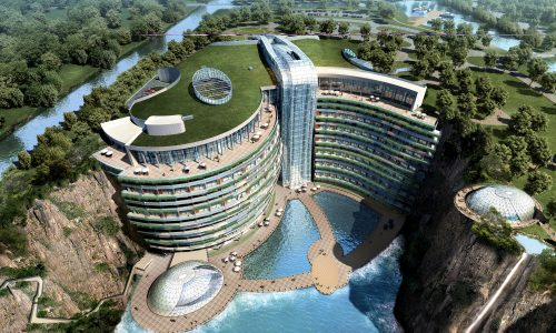 InterContinental is opening a hotel in Shanghai that is underground and underwater