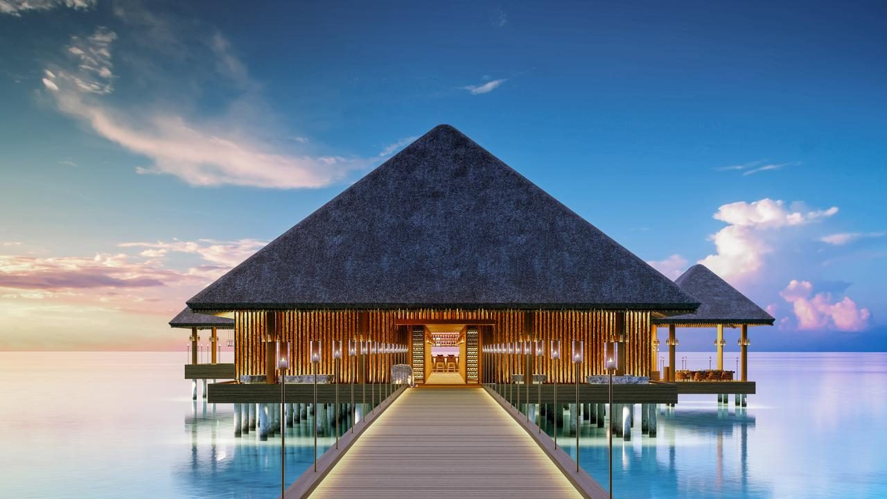 Joali Maldives, on Muravandhoo Island, opens October 1 and we think it's a beauty