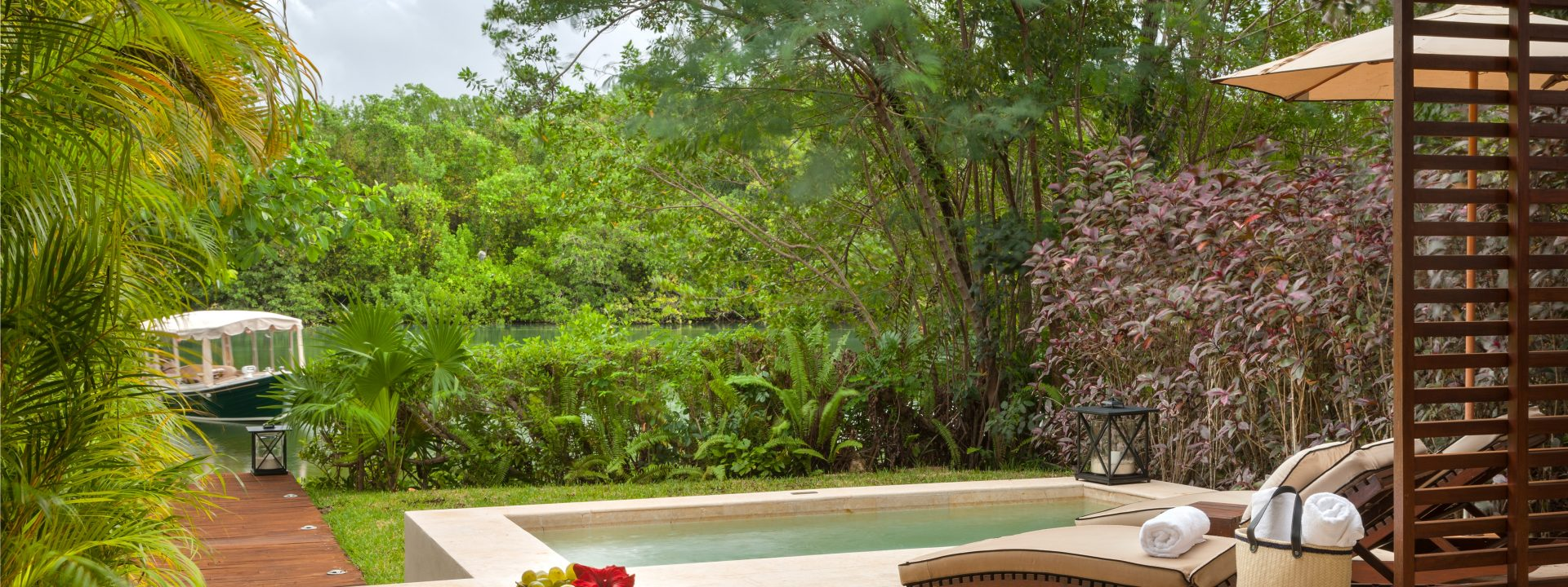 Eau what a feeling! A deep dive on the joys of a private plunge pool