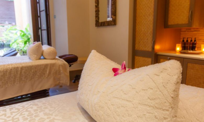 At the Aulani Disney Resort in Oahu, Hawaii, the spa beckons couples looking for some quiet time