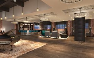 The new Foundry hotel in Asheville, North Carolina is a hip and happening hotel