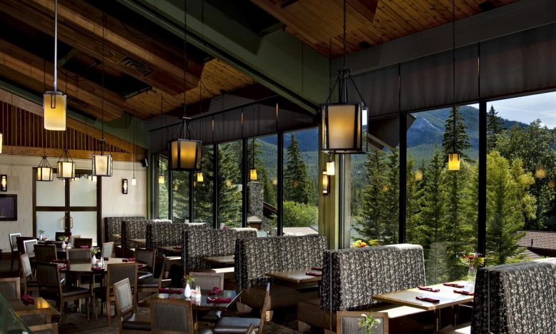 The Crave Mountain Grill at Banff Park Lodge hotel serves up a delicious breakfast