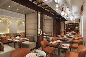 One of Souk Al Wakra Qatar Hotel's five restaurants