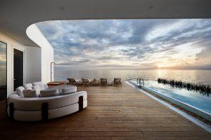 Conrad Maldives Rangali's MURAKA villa's deck