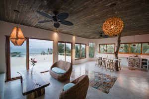 The penthouse suite at Zorba Beach Homes in Tulum, Mexico