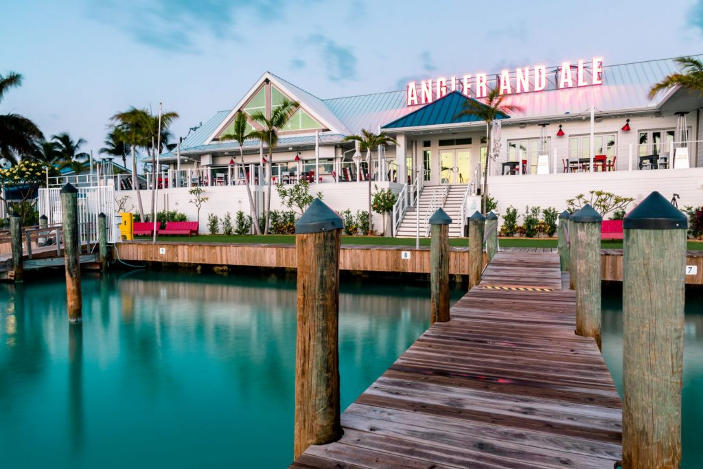 The Angler and Ale restaurant at Hawks Cay