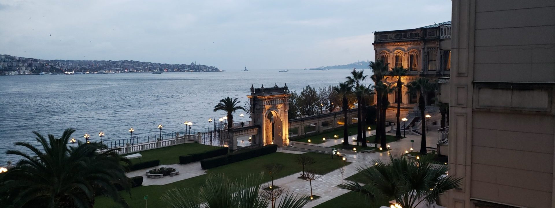 Be treated like royalty at Çırağan Palace Kempinski Istanbul