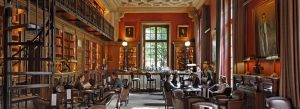 The Library Bar at St. James Paris hotel