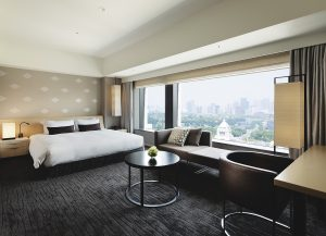 Guest room at Capitol Hotel Tokyu in Tokyo