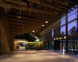 Lobby of Capitol Hotel Tokyu in Tokyo