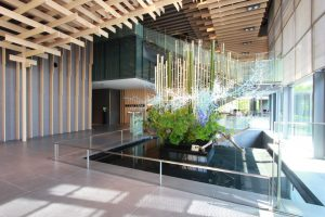 Lobby details of Capitol Hotel Tokyu in Tokyo
