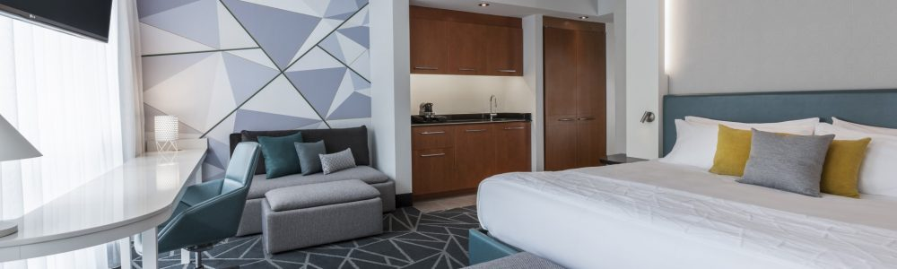 Hôtel le Crystal, a hotel-condo hybrid, shimmers in Montreal's chic Golden Mile neighborhood