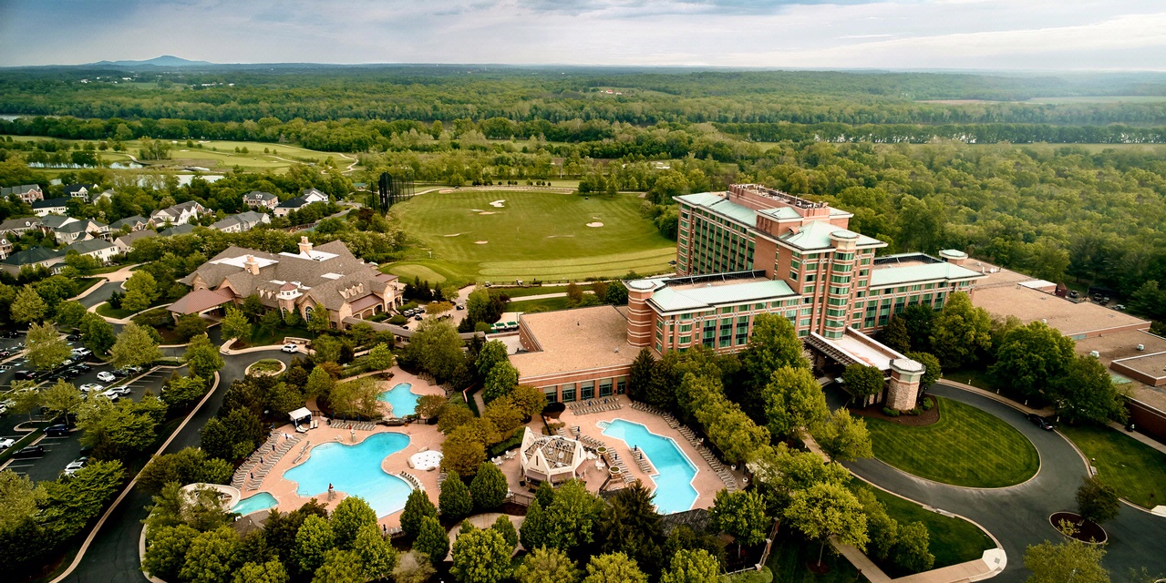 Luxury uncorked at Lansdowne Resort and Spa, an elegant resort on the edge of Virginia's ripening wine country