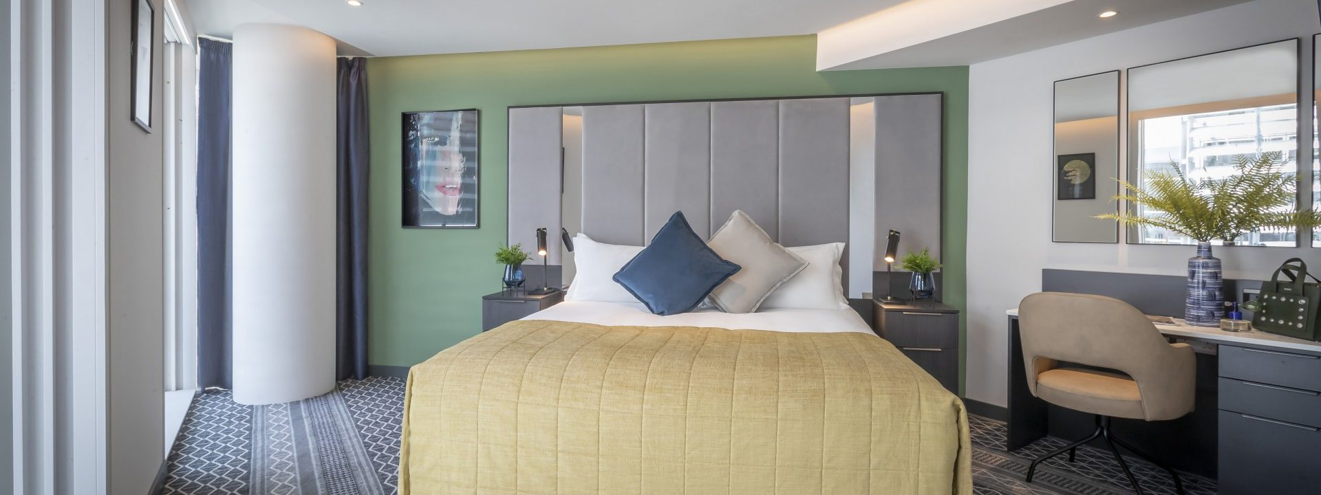 Dublin's new Marlin Hotel is a stylish mash-up of contemporary design and tech-forward amenities