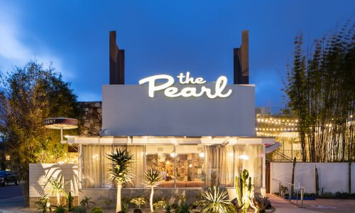The boutique Pearl Hotel in San Diego reopens with a new 1960s look