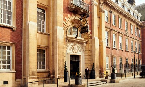 Settle into tasteful surroundings at The Grand York hotel, shaped by history